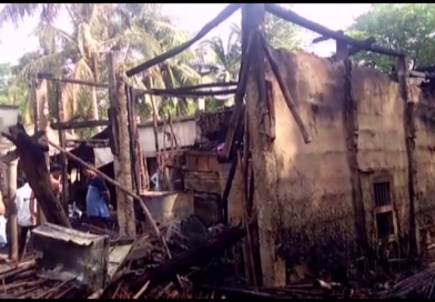 10 houses gutted in fire in Bhadrak