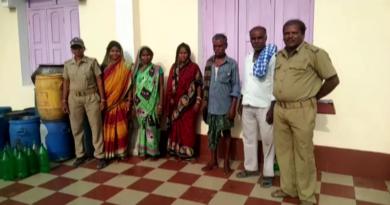 Five arrested with illicit liquor in Balasore